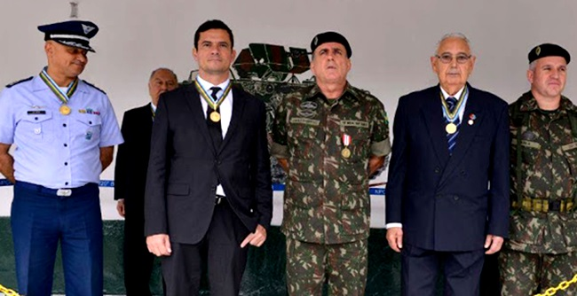 Sérgio Moro proteção Exército Brasileiro