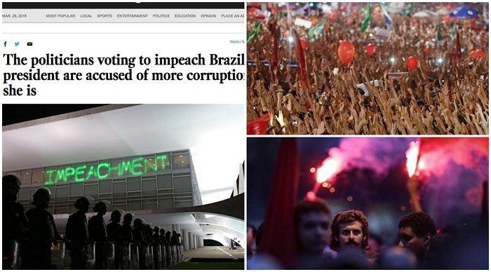 impeachment dilma Brasil golpe LA Times