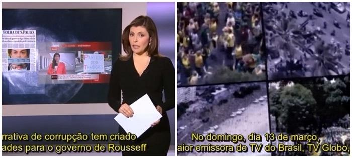Al Jazeera golpe brasil dilma