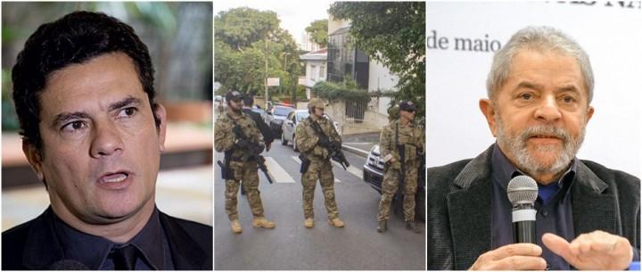 Lula moro Polícia Federal