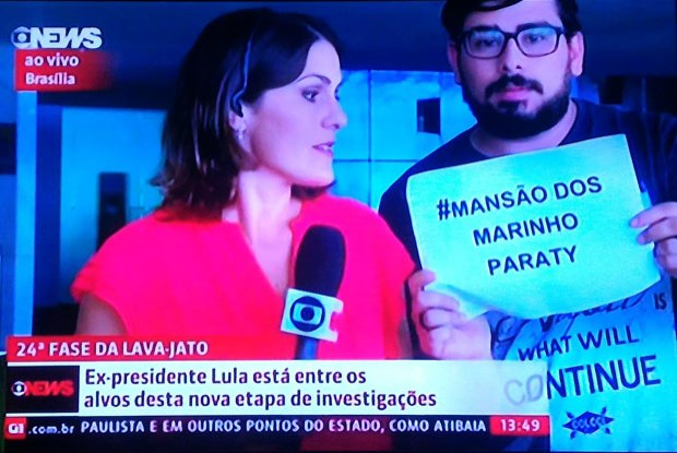 Globo mansão marinho cartaz vivo