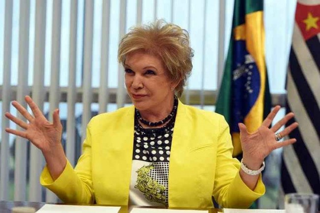 Marta Suplicy expulsa protesto paulista impeachment