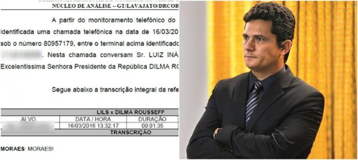 Sergio Moro Dilma grampo Lula