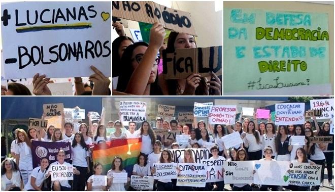 professora Curitiba demissão escola impeachment direita ódio