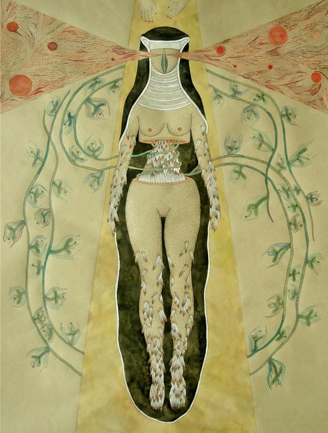 monja medieval orgasmo feminino pioneira escrever desenhar