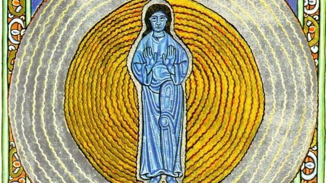 Hildegarda de Bingen monja medieval pioneira orgasmo feminino