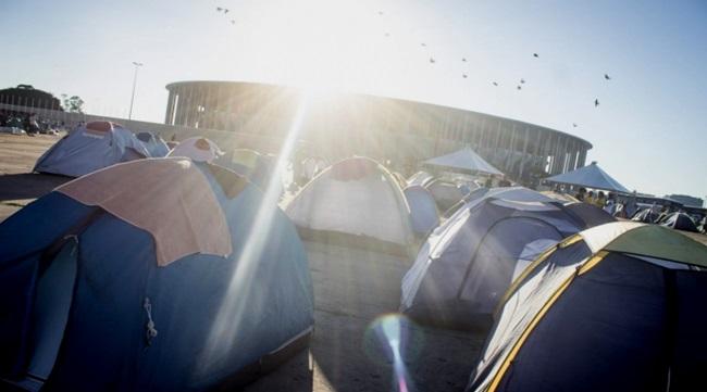 acampamento golpe brasília democracia dilma pt