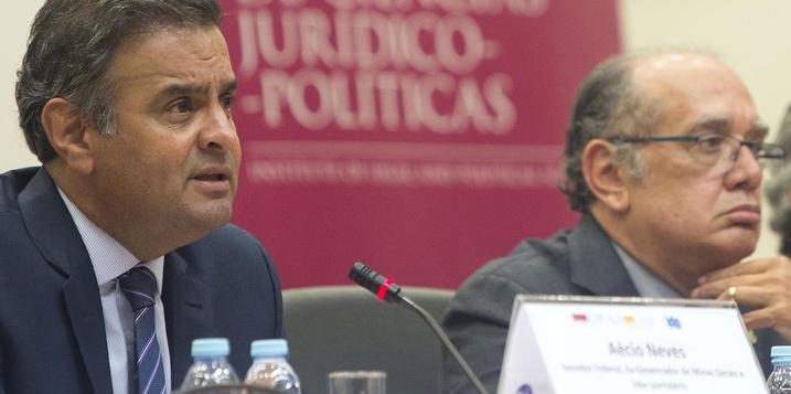 Aécio Neves PSDB Gilmar Mendes PSDB é condenado pelo TSE