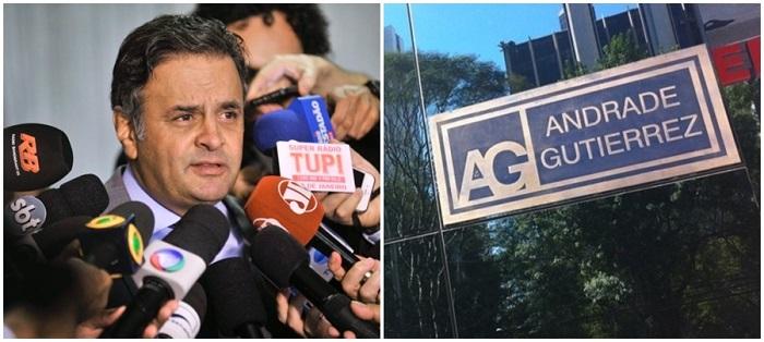 Aécio Neves Andrade Gutierrez golpe dilma