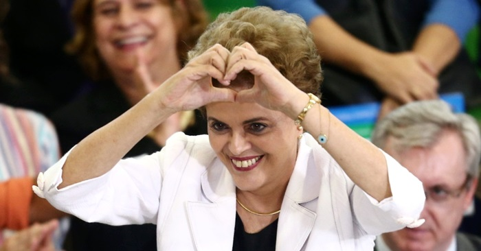 dilma rousseff lutará resistirá golpe impeachment