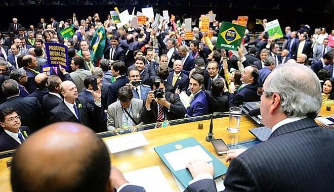 el pais congresso parlamento podre corrupto