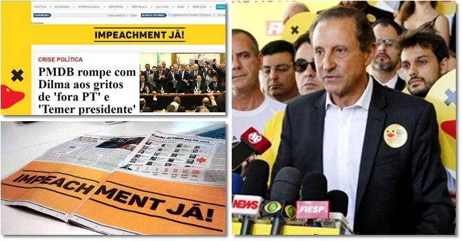 fiesp campanha impeachment dilma golpe são paulo rio de janeiro