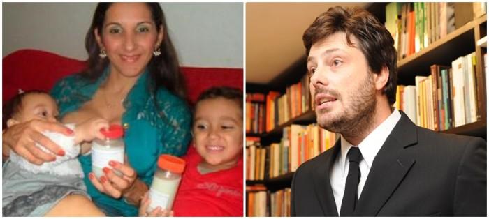 Danilo Gentili perde batalha judicial doadora doadora de leite materno
