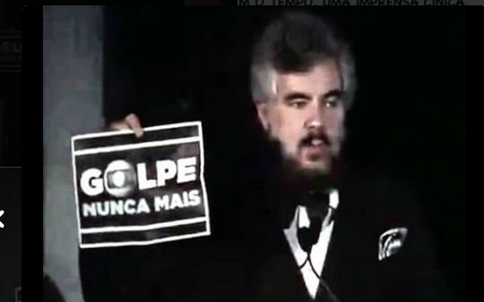 Mauricio Lima pulitzer denuncia golpe e Rede Globo