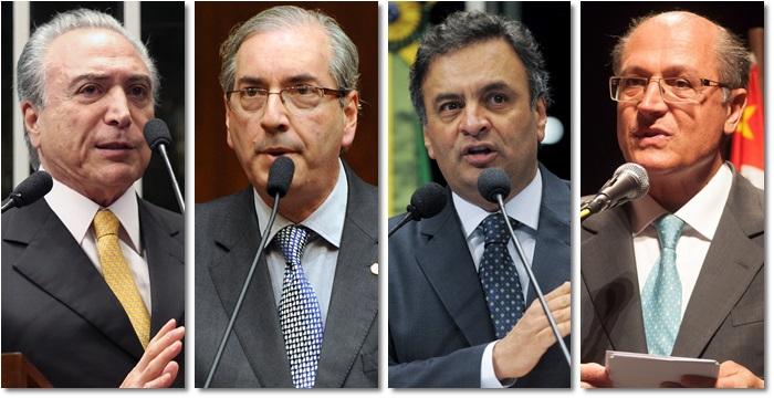 adversários influente psdb pmdb impeachment dilma golpe corrupção