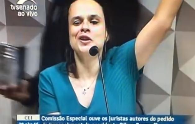 Janaina Paschoal impeachment senado golpe