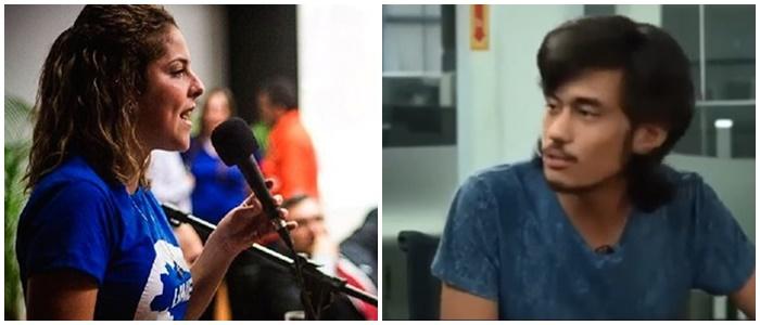 Carina Vitral vs Kim Kataguiri diferença