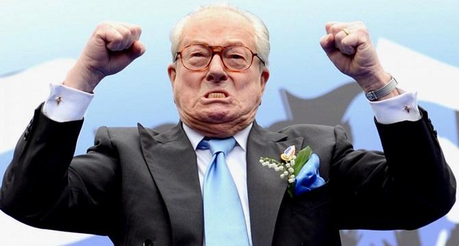 Jean-Marie Le Pen frança direita nazismo preconceito