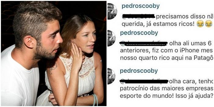 Luana Piovani racismo pedro scooby