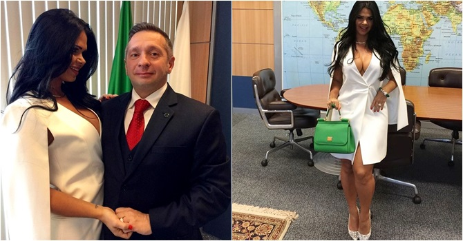 ministro mulher miss bumbum ensaio sensual planalto