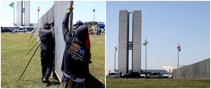 brasília impeachment manifestações muro domingo