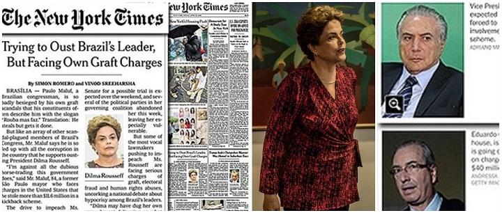 new york times impeachment dilma golpe