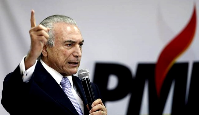 michel temer pmdb impeachment progressismo esquerda