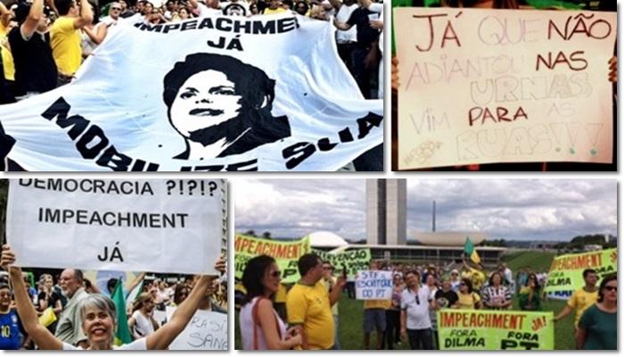 oposição pedido impeachment parar país