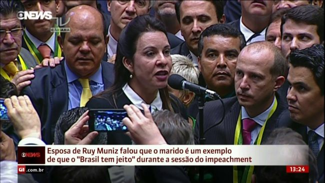 Raquel Muniz marido preso impeachment