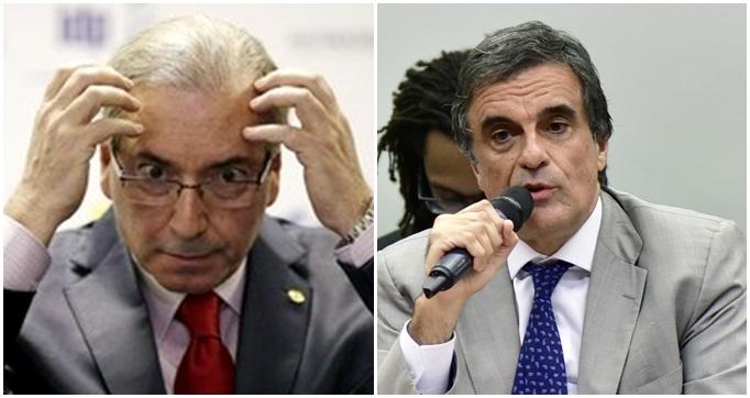 Reação de Eduardo Cunha impeachment defesa de Cardozo dilma
