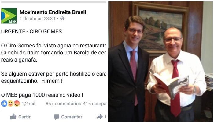 Endireita Brasil Ciro Gomes Ricardo Salles