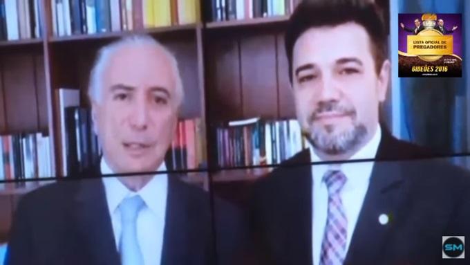 Michel Temer Marco Feliciano bancada evangélica