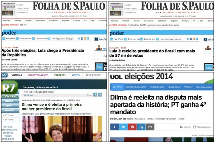 Posse de um inelegível corrupto impeachment dilma eleições pt lula golpe na democracia