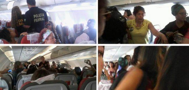 Mulheres presas deputados golpistas brasília