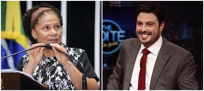senadora Regina Sousa danilo gentili