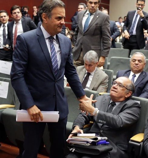 Aécio Janot Gilmar Mendes Furnas