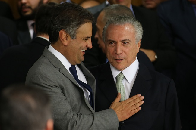 aécio neves michel temer