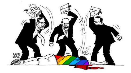 ditadura gayzista homofobia brasil religião preconceito