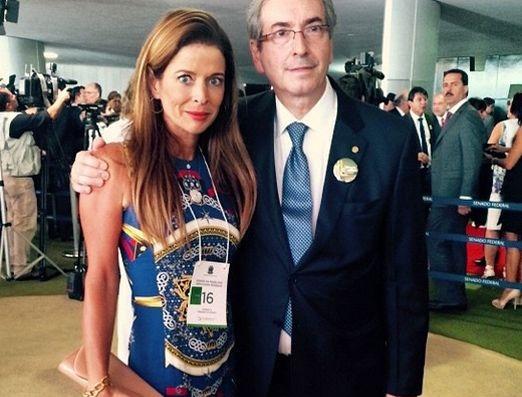 Cláudia Cruz Eduardo Cunha esposa