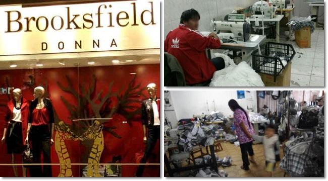 Brooksfield Inspeção flagra trabalho escravo infantil em grife de luxo de São Paulo imigrantes bolivainos