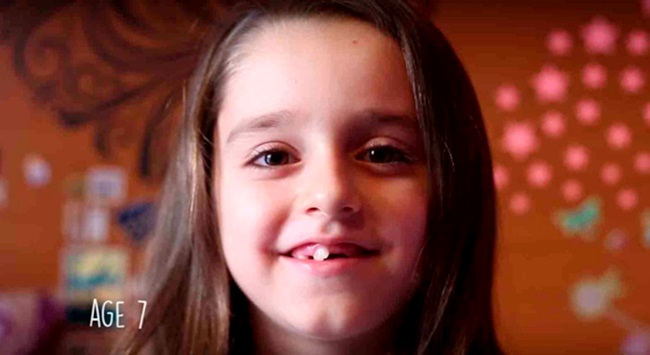 Willa Naylor menina trans vídeo criança
