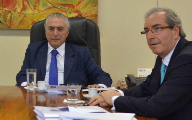 Michel Temer Eduardo Cunha encontro