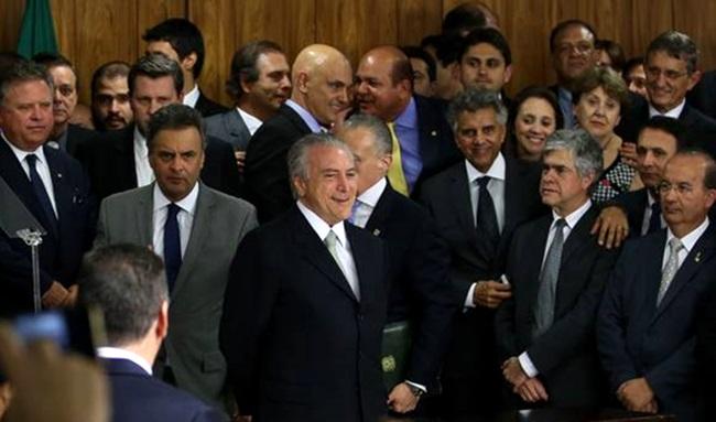 zona governo temer corrupção golpe direita
