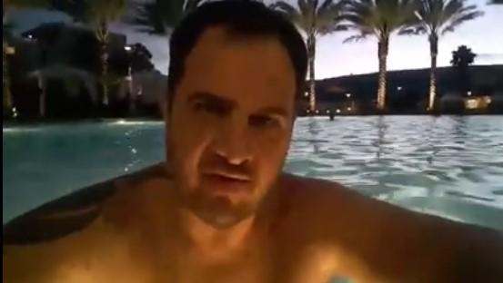 eua brasileiro piscina ataque esquerdista
