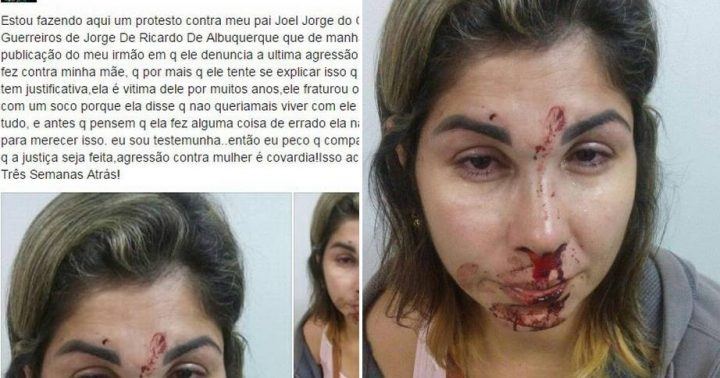 mulher agredida esposa militar irmã