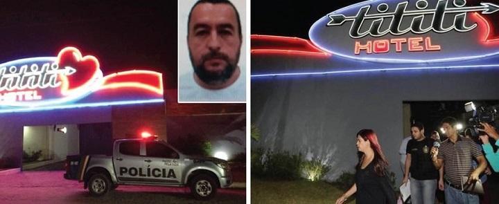 Paulo César Morato envenenamento motel
