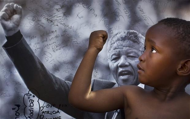 obrigado Nelson Mandela 18 julho