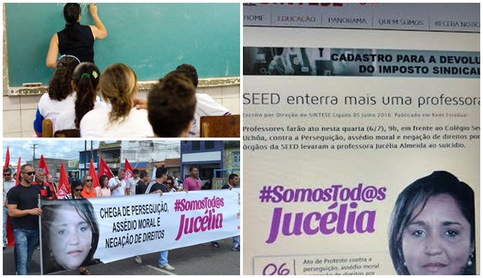 professora Sergipe suicídio salário