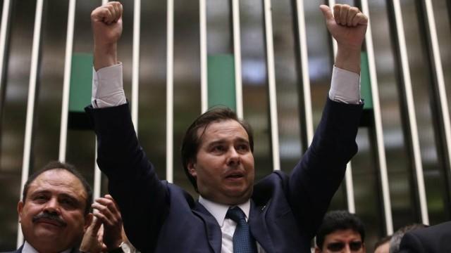 Rodrigo Maia presidente Câmara