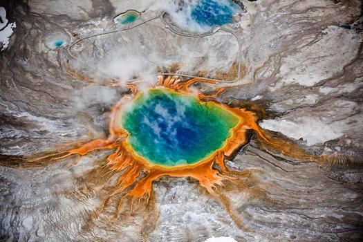 catástrofes globais vulcão yellowstone